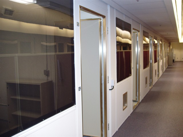 Shielded Chambers